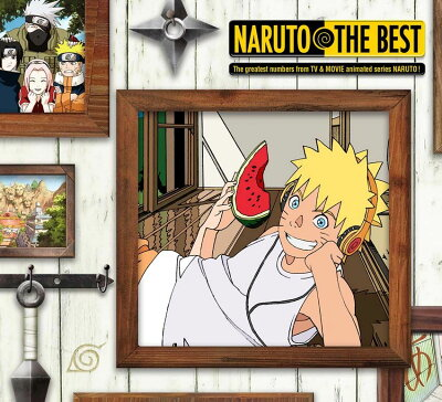 NARUTO THE BEST (期間生産限定盤) [ (アニメーション) ]
