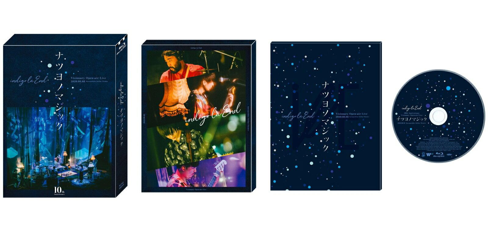 10th Anniversary Visionary Open-air Live ナツヨノマジック 【Blu-ray】画像