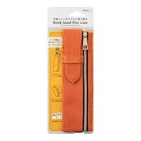 ミドリ ブックバンド ペンケース B6~A5用 オレンジ 62323006