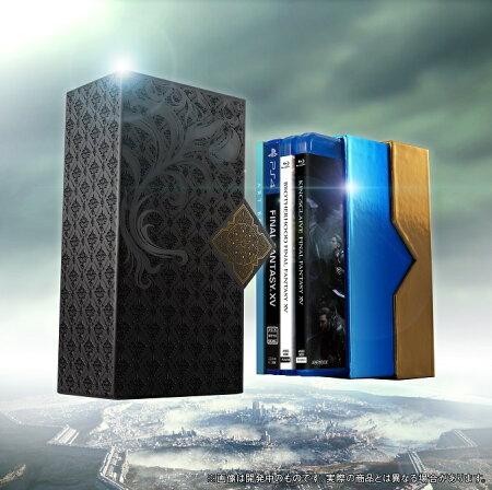 【ポートレート付】Film Collections Box FINAL FANTASY XV PlayStation(R)4 「FINAL FANTASY XV」ゲームディスク付き【数量限定生産版】【Blu-ray】