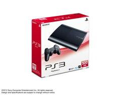 【送料無料】PlayStation3 500GB チャコール・ブラック