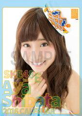 【送料無料】(卓上) 柴田阿弥 2016 SKE48 カレンダー【生写真(2種類…