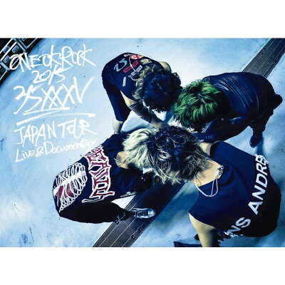 ONE OK ROCK 2015 35xxxv JAPAN TOUR LIVE&DOCUMENTARY【Blu-ray】