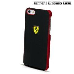 【送料無料】THE SCUDERIA FERRARI COLLECTION - Scuderia Rubber Hard Case Black for iPhone5