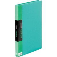 キングジム クリアファイル カラーベース A4タテ 40枚 グリーン 132CW