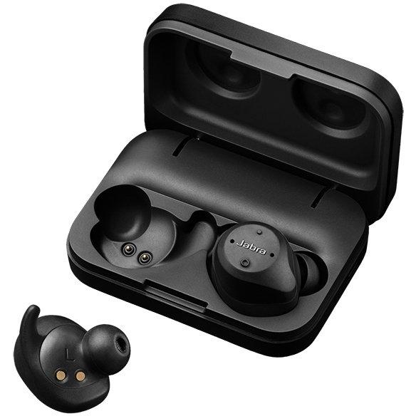 【楽天スーパーSALE期間限定価格】JABRA ELITE SPORT 4.5 BLACK (完全ワイヤレス Bluetooth スポーツイヤホン)