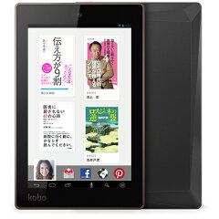 【送料無料】楽天サービスがとことん楽しめるタブレットKobo Arc 7HD 16GB (ブラック)