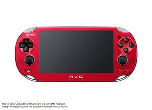 PlayStation Vita Wi-Fiモデル コズミック・レッド