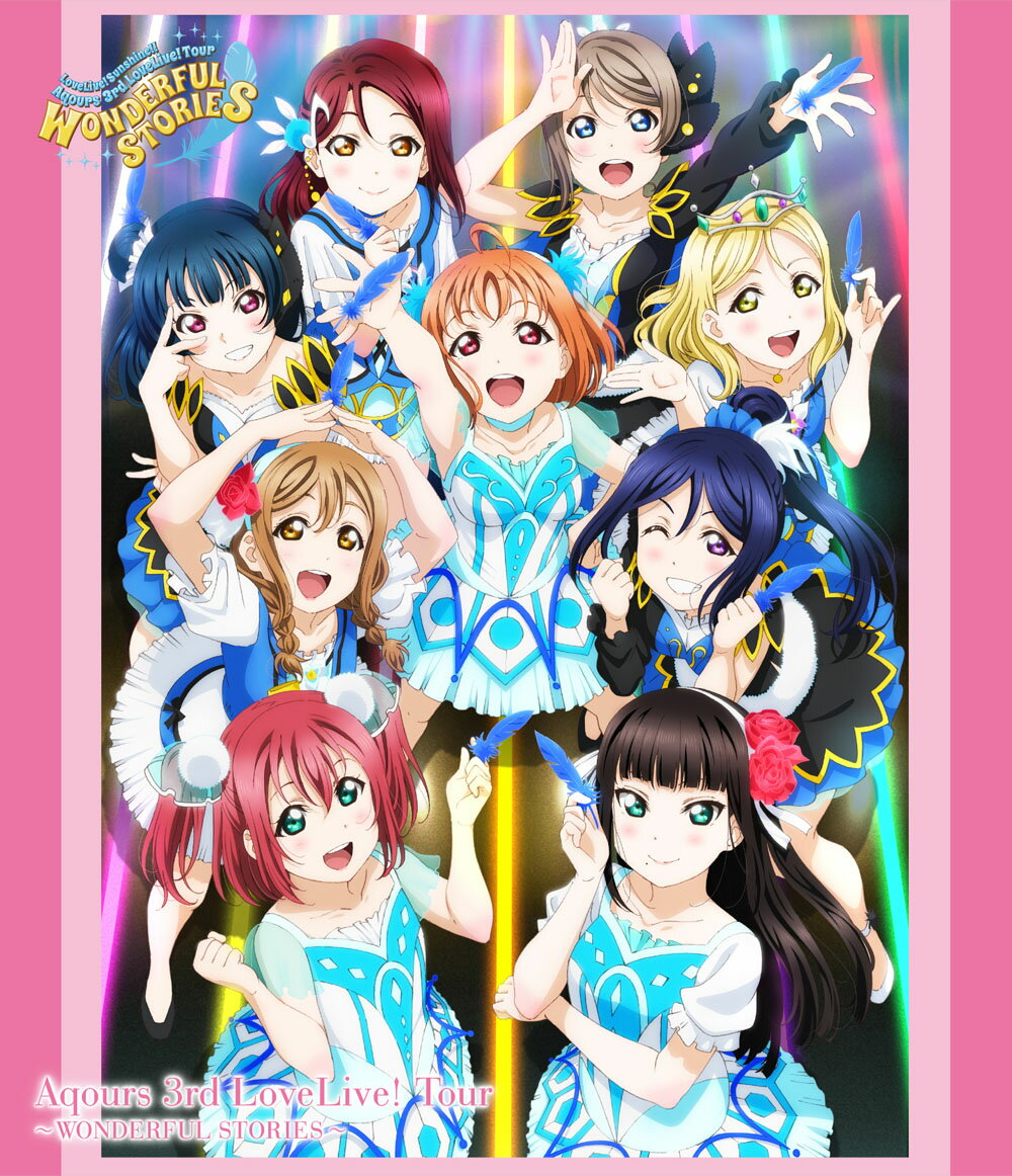 アニメ, キッズアニメ !!! Aqours 3rd LoveLive! TourWONDERFUL STORIESBlu-ray Aqours