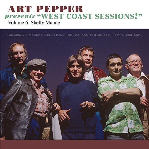 【輸入盤】Art Pepper Presents West Coast Sessions 6: Shelly Manne画像