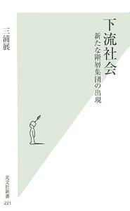 【送料無料】下流社会 [ 三浦展 ]