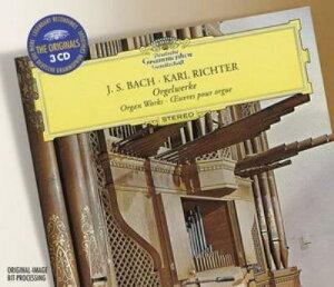 【送料無料】【輸入盤】オルガン作品集(3CD) リヒター(org) [ バッハ(1685-1750) ]