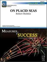 【輸入楽譜】シェルドン, Robert: 穏やかな海で: スコアとパート譜セット