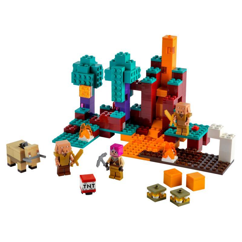 レゴ マインクラフト ゆがんだ森 21168