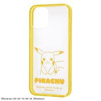 iPhone12/iPhone 12Pro 『ポケットモンスター』/ハイブリッドケース Charaful/『ピカチュウ』