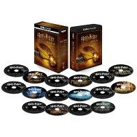 ハリー・ポッター 8フィルムコレクション<4K ULTRA HD&ブルーレイセット>(16枚組)【4K ULTRA HD】