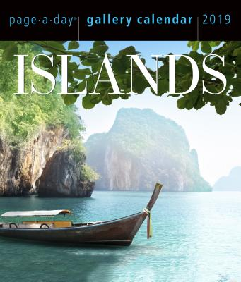 Islands Page-A-Day Gallery Calendar 2019 ISLANDS PAGE-A-DAY GALLERY CAL [ Workman Publishing ]