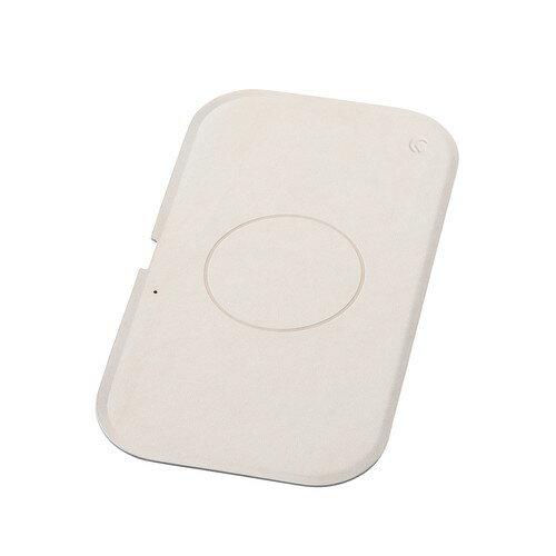 Deff WIZ Wireless Charging Tray Qi 最大15W クリームベージュ