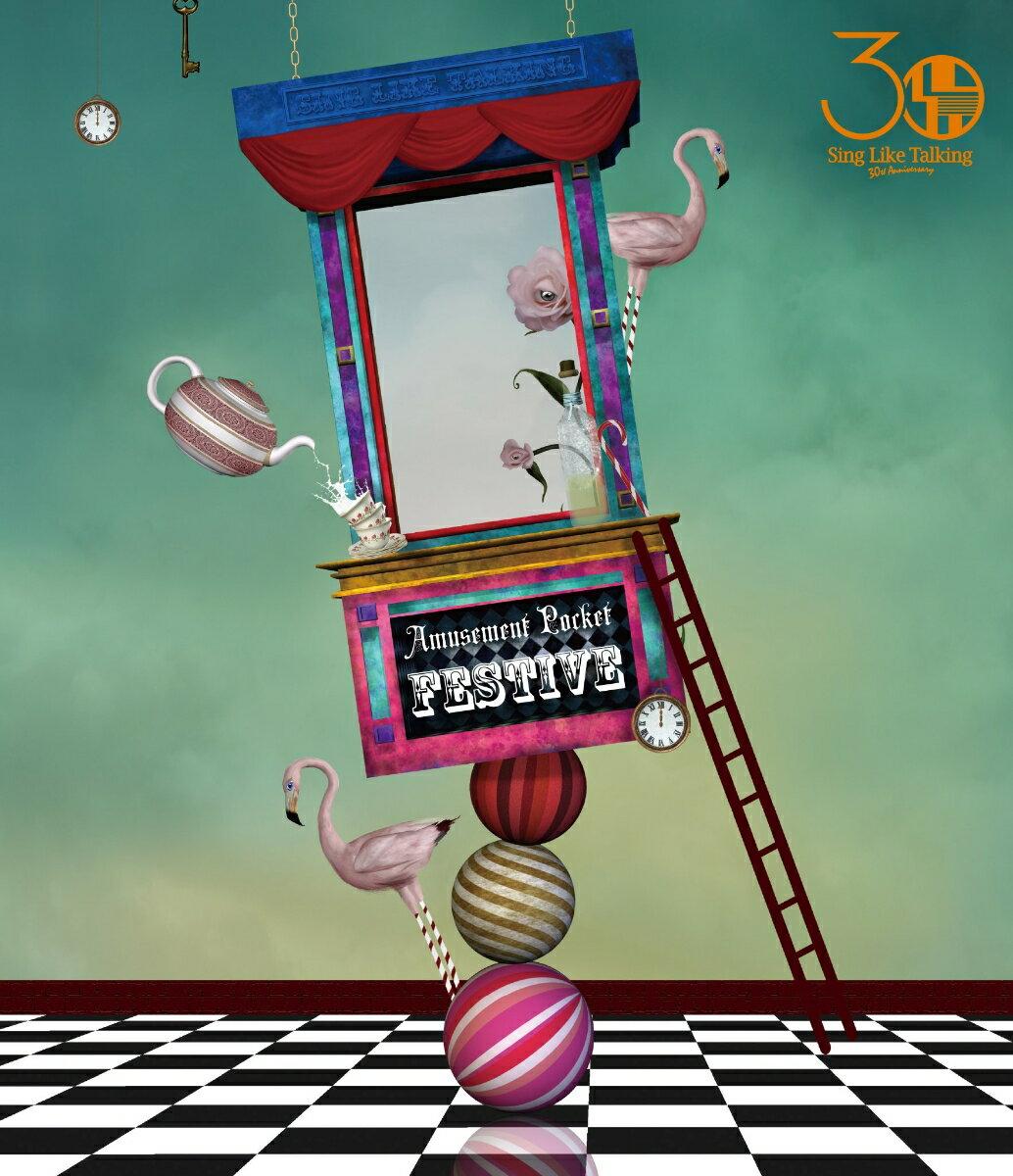 "SING LIKE TALKING 30th Anniversary Live Amusement Pocket ""FESTIVE""(Blu-ray+3CD)【Blu-ray】画像"