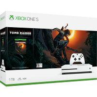 Xbox One S 1 TB (シャドウ オブザ トゥーム レイダー同梱版)の画像