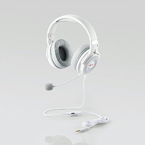 エレコム ゲーミングヘッドセット/HS-G60/オーバーヘッド/ホワイト HS-G60WH