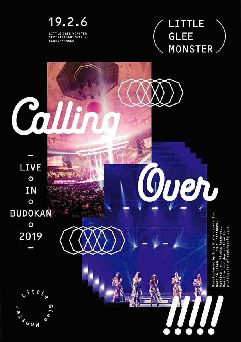 Little Glee Monster Live in BUDOKAN 2019〜Calling Over!!!!!【Blu-ray】画像