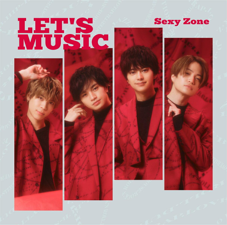 邦楽, ロック・ポップス LETS MUSIC (B CDDVD) Sexy Zone