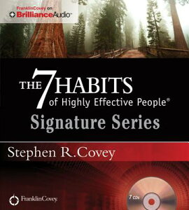 【送料無料】The 7 Habits of Highly Effective People: Signature Series [ Stephen R. Covey ]