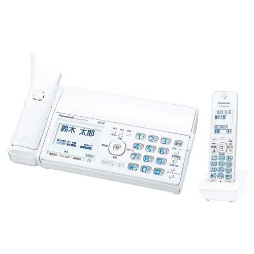 Panasonic デジタルコードレス普通紙ファクス(子機1台付き)(ホワイト) KX-PD515DL-W