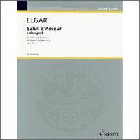 【輸入楽譜】エルガー, Edward: 愛の挨拶 Op.12