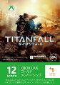 Xbox Live 12ヶ月+1ヶ月ゴールド タイタンフォール エディションの画像