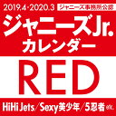 2019.4→2020.3/ジャニーズJr.カレンダーRED...