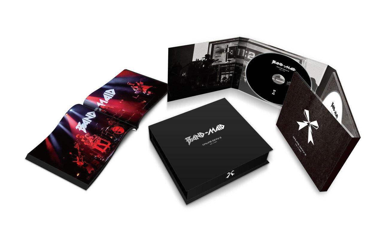 【先着特典】BAND-MAID ONLINE OKYU-JI (Feb. 11, 2021)(完全生産限定盤)【Blu-ray】(BAND-MAID「BAND-MAID ONLINE OKYU-JI (Feb. 11, 2021)」発売記念キャンペーン応募券)