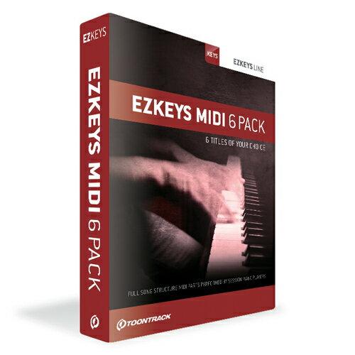 EZKEYS MIDI 6PACK TT051