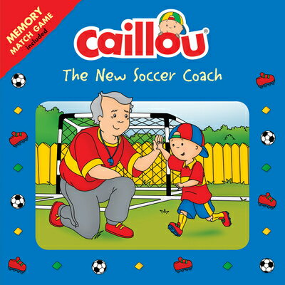 Caillou: The New Soccer Coach: Memory Match Game Included画像