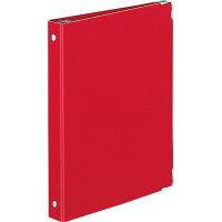 コクヨ バインダー ノート カラーパレット A5 20穴 最大100枚 赤 ルー105-8Z