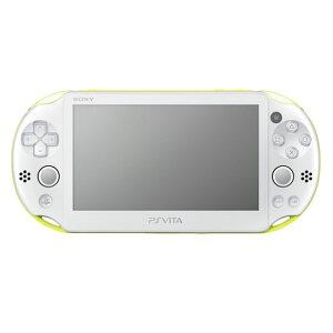【送料無料】PlayStation Vita Wi-Fiモデル ライムグリーン/ホワイト
