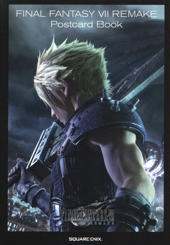FINAL FANTASY 7 REMAKE Post Card Book画像