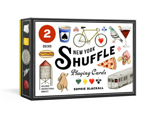 New York Shuffle Playing Cards: Two Standard Decks画像