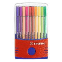 STABILO 水性マーカー Pen68 カラーパレード 20色セット