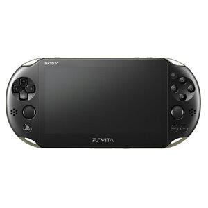 【送料無料】PlayStation Vita Wi-Fiモデル カーキ/ブラック
