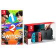 Nintendo Switch Joy-Con(L) ネオンブルー/(R) ネオンレッド + 1-2-Switch