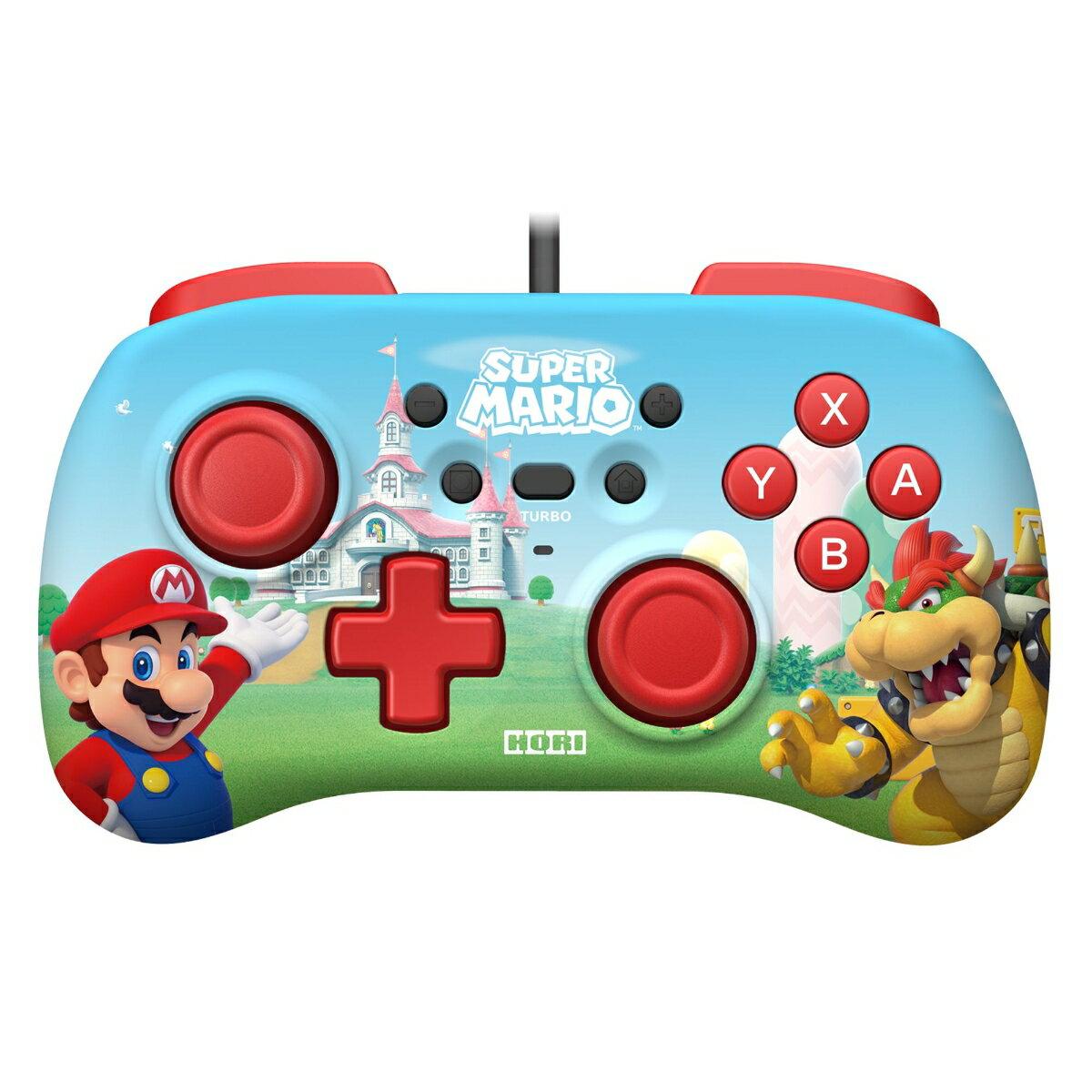 ホリパッドミニ for Nintendo Switch スーパーマリオ