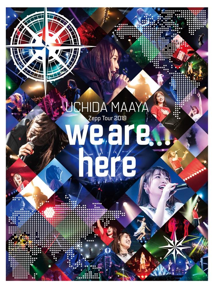 ミュージック, その他 UCHIDA MAAYA Zepp Tour 2019we are hereBlu-ray