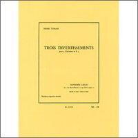 【輸入楽譜】トマジ, Henri: 3つのディヴェルティメント