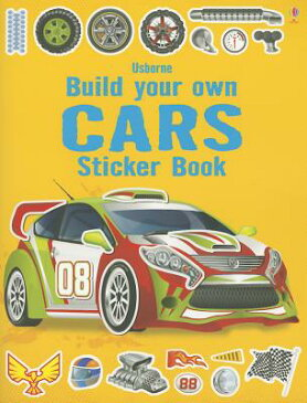 Build Your Own Cars Sticker Book STICKER BK-BUILD YOUR OWN CARS [ Simon Tudhope ]