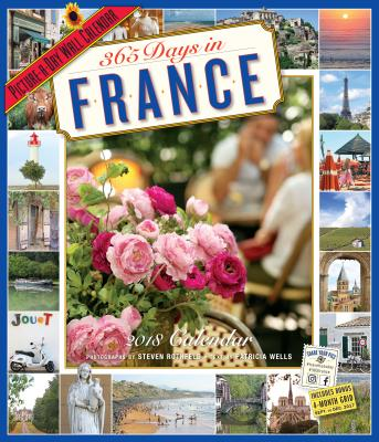 365 Days in France Picture-A-Day Wall Calendar 2018画像