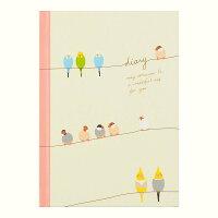 ミドリ 日記 小鳥柄 12386006