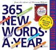 365 New Words-A-Year Page-A-Day Calendar CAL 2018-365 NEW WORDS A YEAR [ Merriam-Webster ]