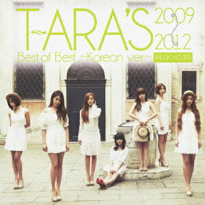 【送料無料】T-ARA's Best of Best 2009-2012 〜Korean ver.〜【MUSIC + CLIPS】 [ T-ARA ]